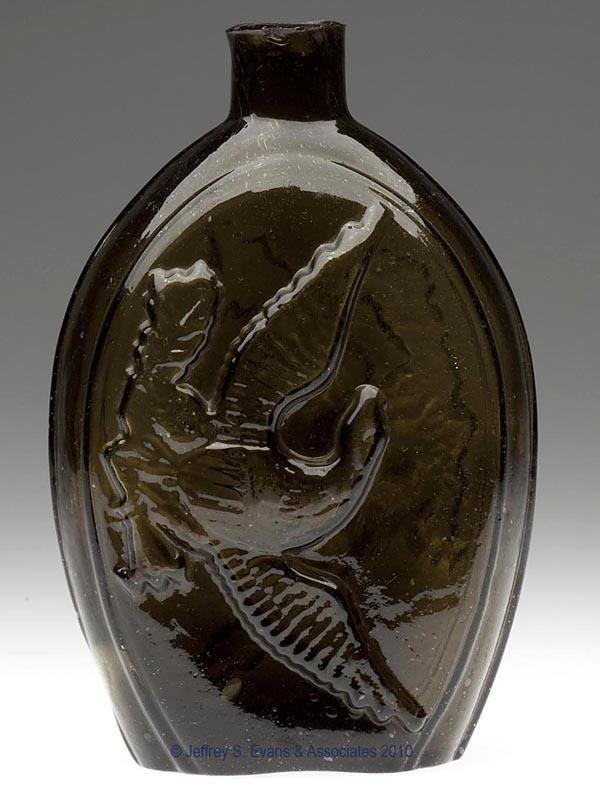 13: GII-70 DOUBLE EAGLE PICTORIAL FLASK