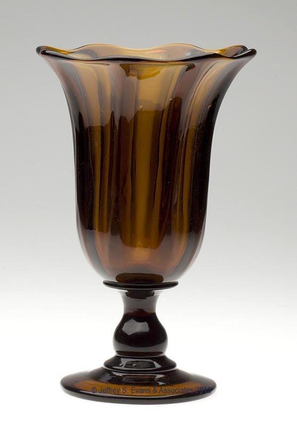 51: PILLAR-MOLDED VASE OR CELERY GLASS