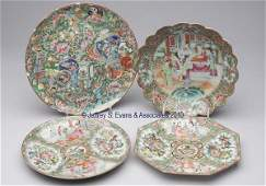 652 CHINESE EXPORT PORCELAIN FAMILLE ROSE ARTICLES LO