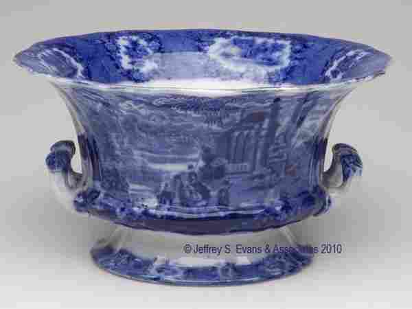 700: STAFFORDSHIRE TRANSFERWARE FRUIT BOWL
