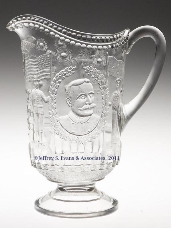 3: GRIDLEY HISTORICAL EAPG WATER PITCHER