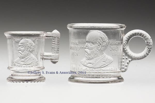 5: HISTORICAL MUGS, LOT OF TWO