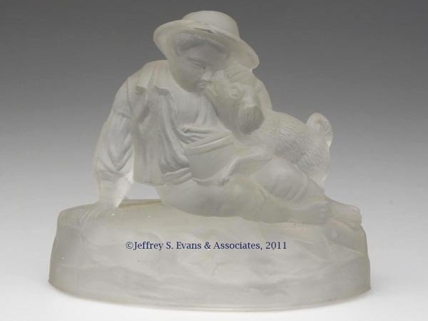10: GILLINDER & SONS CENTENNIAL EXHIBITION BOY AND HIS