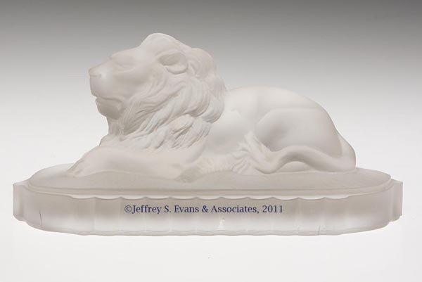 11: GILLINDER & SONS CENTENNIAL EXHIBITION LION STATUET