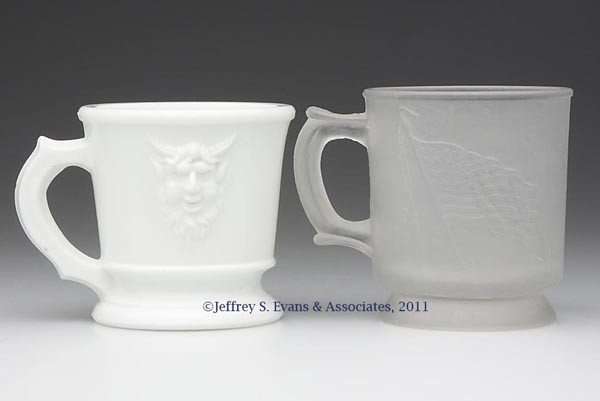 19: VARIOUS MUGS, LOT OF TWO