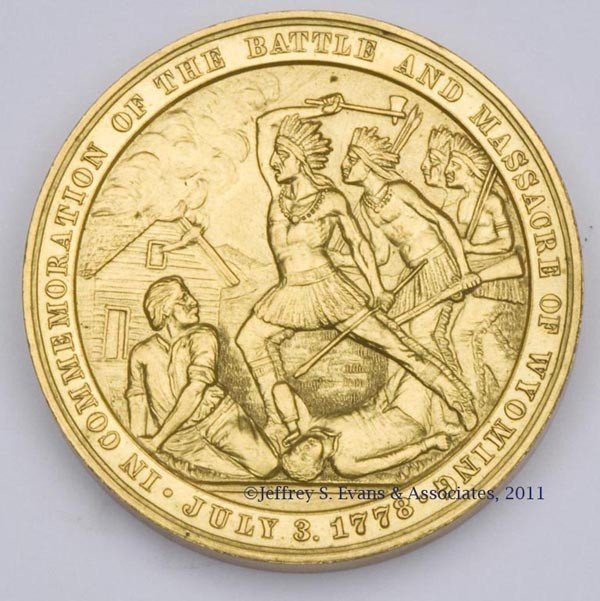 2: BATTLE AND MASSACRE OF WYOMING (PA) HISTORICAL MEDAL