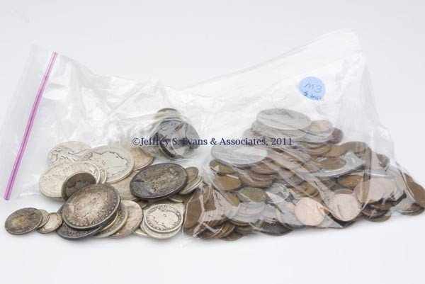 4: ASSORTED LOT OF AMERICAN COINAGE