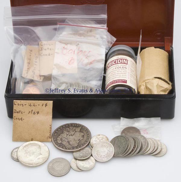5: ASSORTED LOT OF AMERICAN COINAGE