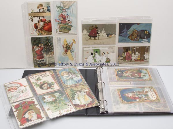 15: ASSORTED SANTA CLAUS AND OTHER CHRISTMAS POST CARDS