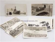 21: PANAMA AND PANAMA CANAL REAL PHOTO POST CARDS, LOT
