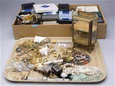 383: LARGE ASSORTED LOT OF COSTUME JEWELRY