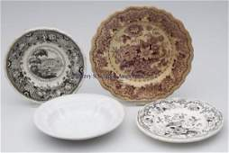 472 STAFFORDSHIRE TRANSFERWARE AND OTHER ARTICLES LOT