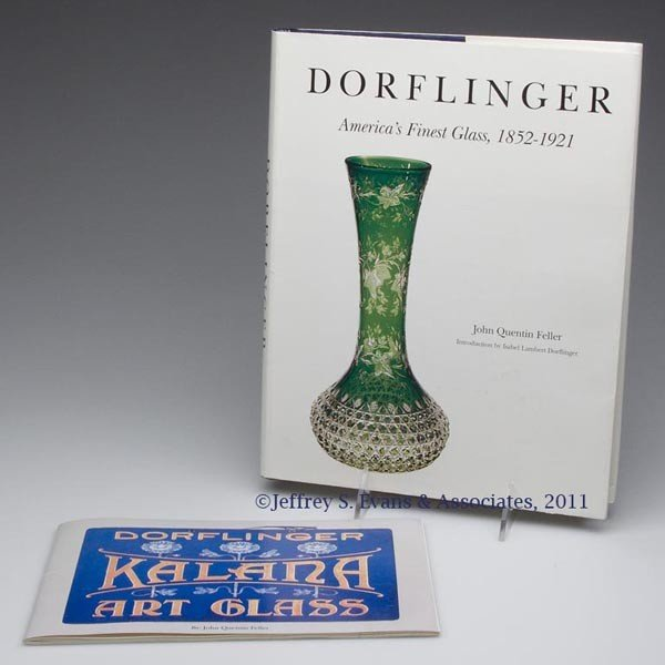 2: DORFLINGER CUT GLASS REFERENCE VOLUMES, LOT OF TWO