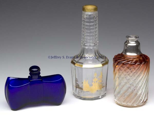 1: BACCARAT COMMERCIAL FRAGRANCE BOTTLES, LOT OF THREE