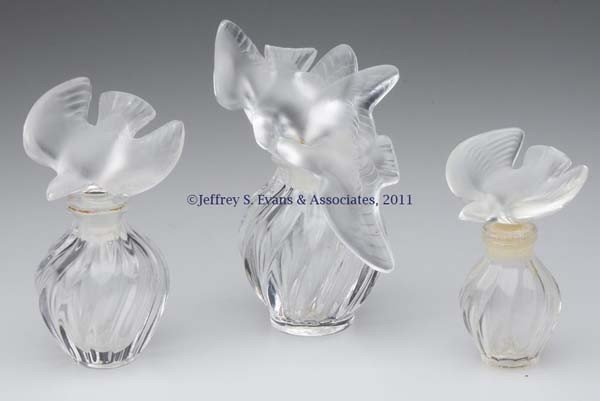 "2: LALIQUE FOR NINA RICCI ""L'AIR DU TEMPS"" COMMERCIAL F"