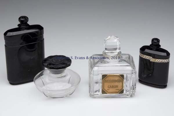 9: CARON COMMERCIAL FRAGRANCE BOTTLES, LOT OF FOUR