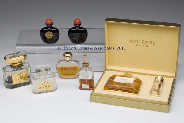 13: JEAN PATOU COMMERCIAL FRAGRANCE BOTTLES, LOT OF SEV