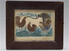 288: VIRGINIA FOLK ART PUZZLE PICTURE