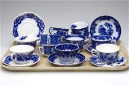 734: ENGLISH STAFFORDSHIRE AND AMERICAN TRANSFERWARE FL