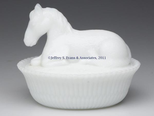 11: MCKEE HORSE COVERED DISH