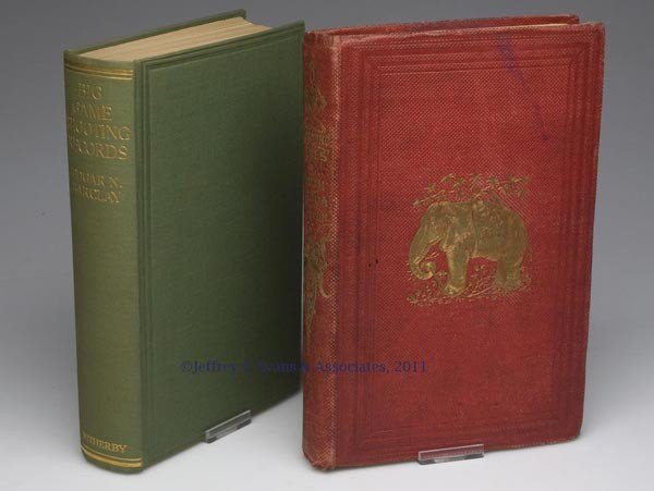 2: AFRICAN SPORTING VOLUMES, LOT OF TWO