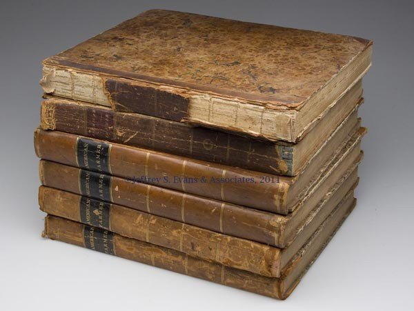 12: AGRICULTURAL STUDIES VOLUMES, LOT OF SIX
