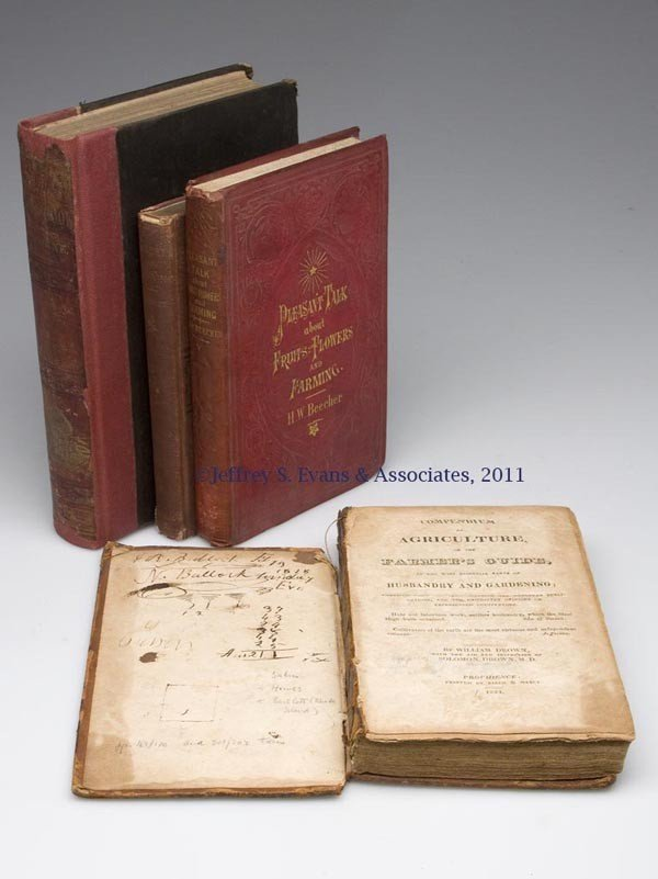 14: AGRICULTURAL STUDIES VOLUMES, LOT OF FOUR