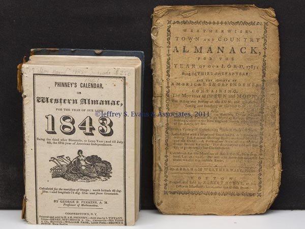 16: ALMANAC VOLUMES, LOT OF TWO