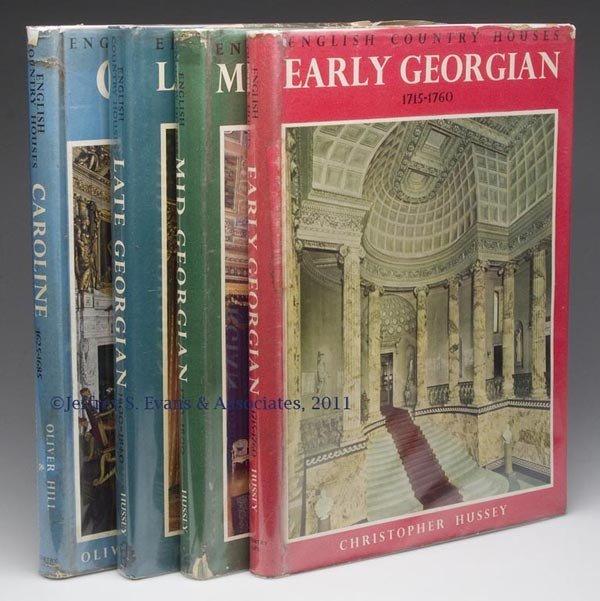 23: ARCHITECTURE - ENGLAND VOLUMES, SET OF FOUR