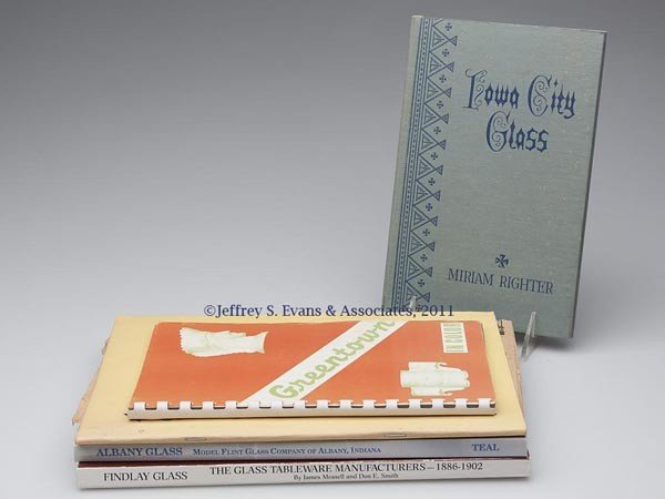 20: MIDWEST GLASS REFERENCE VOLUMES, LOT OF FIVE