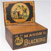 175: BLACK AMERICANA COUNTRY STORE ADVERTISING WOODEN B
