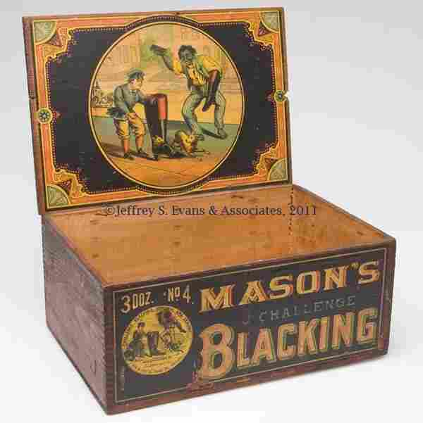 BLACK AMERICANA COUNTRY STORE ADVERTISING WOODEN B