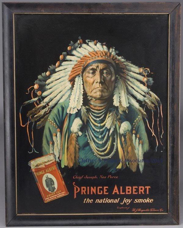 218: PRINCE ALBERT TOBACCO ADVERTISING SIGN