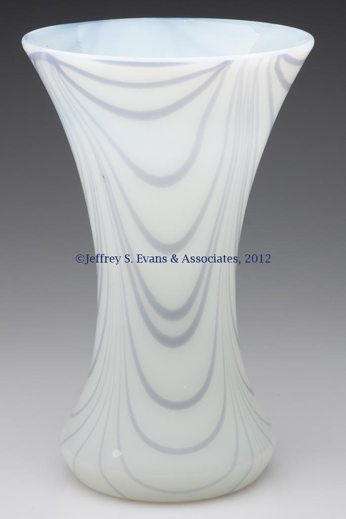 83: FRY ART GLASS VASE