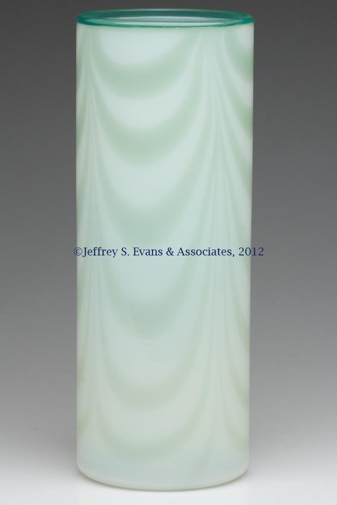 84: FRY ART GLASS CYLINDER VASE