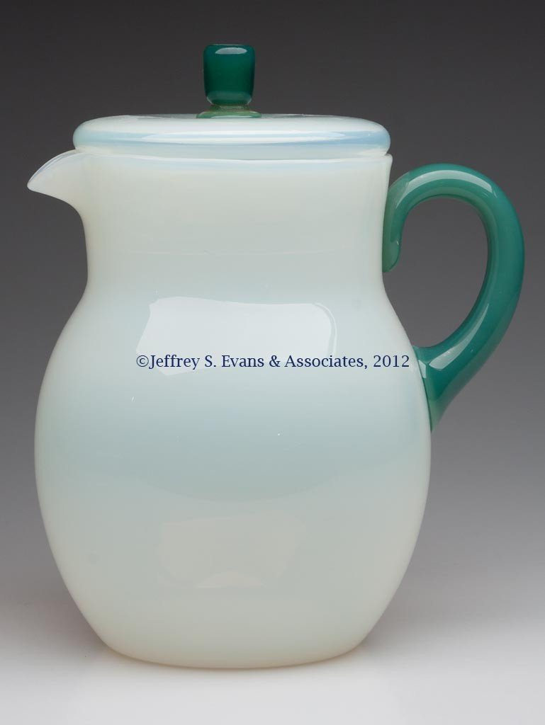 85: FRY ART GLASS #11 JUG AND COVER