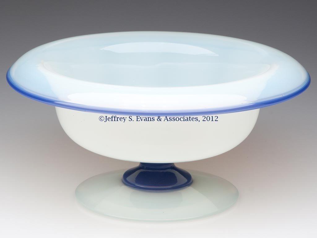 87: FRY ART GLASS #2502 FRUIT BOWL