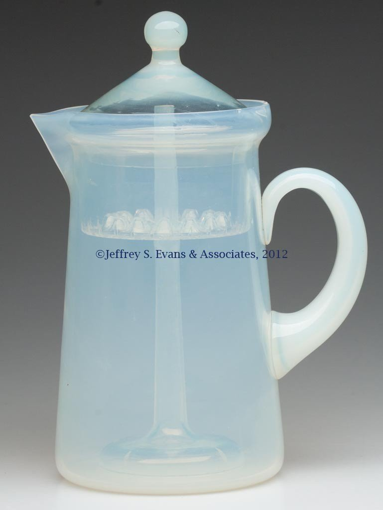 88: FRY ART GLASS COFFEE POT