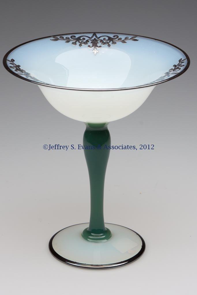 92: FRY ART GLASS #2502 COMPORT