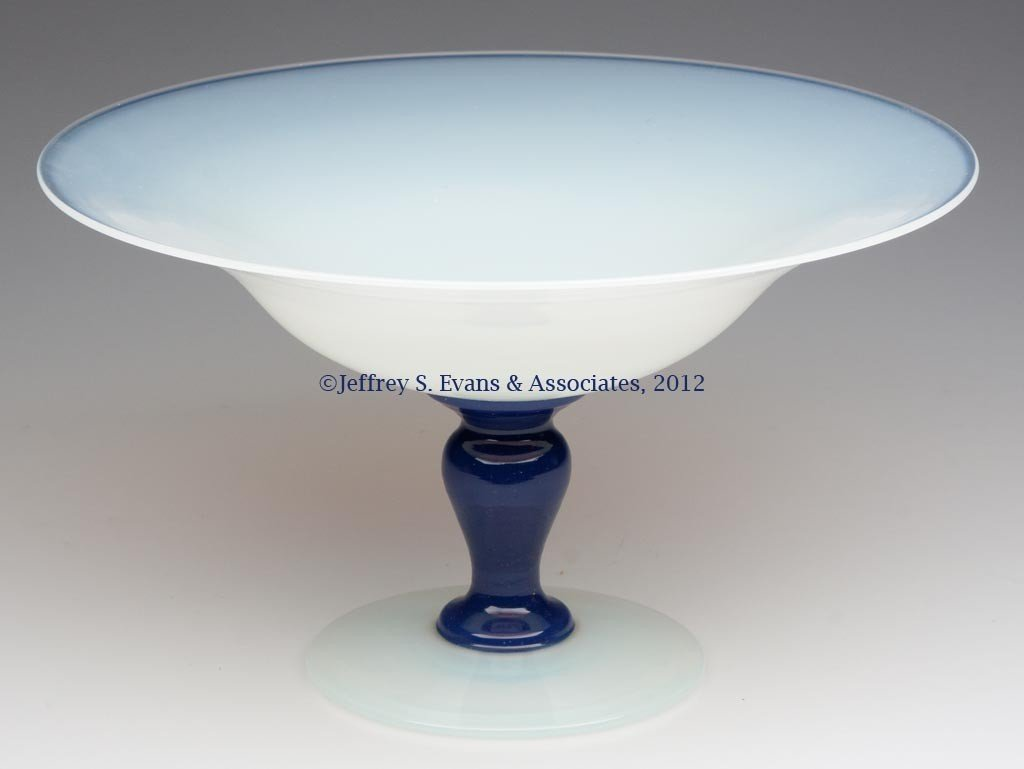 94: FRY ART GLASS COMPORT
