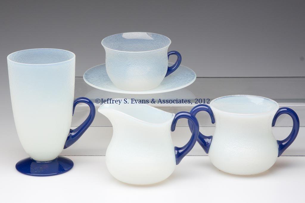 106: FRY ART GLASS ARTICLES, LOT OF FIVE