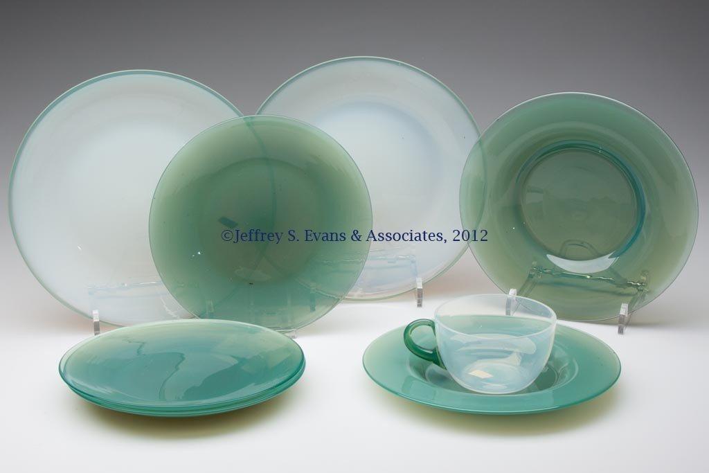109: FRY ART GLASS ARTICLES, LOT OF EIGHT