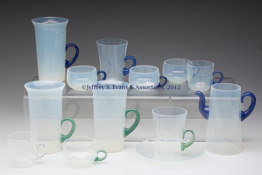 115: FRY ART GLASS ARTICLES, LOT OF 13