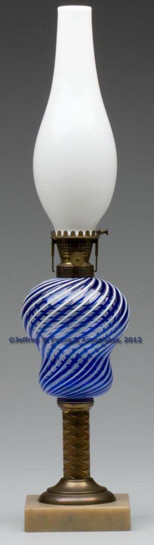 5: LATTICINIO STRIPE FONT STAND LAMP