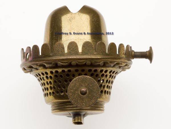 6: LATTICINIO STRIPE FONT STAND LAMP - 3
