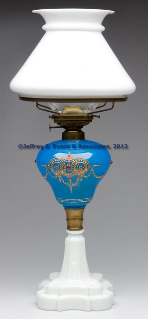51: DECORATED STAND LAMP