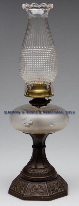 RHIND PATENT SAFETY STAND LAMP