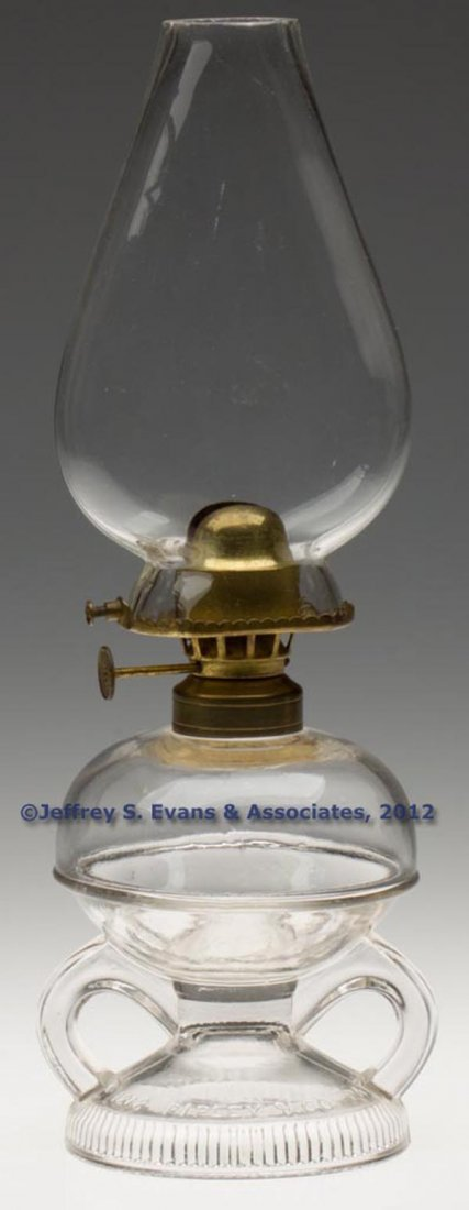124: RIPLEY PATENTED FOOTED FINGER LAMP