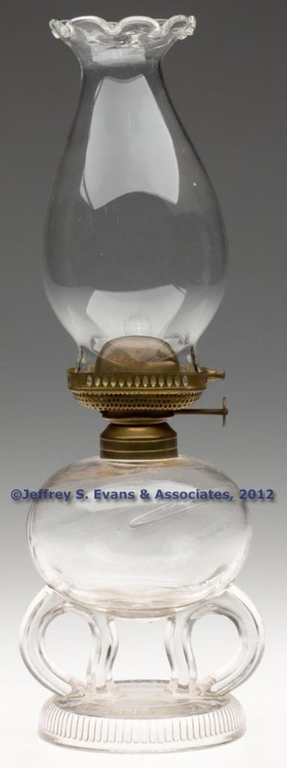 125: RIPLEY PATENTED FOOTED FINGER LAMP