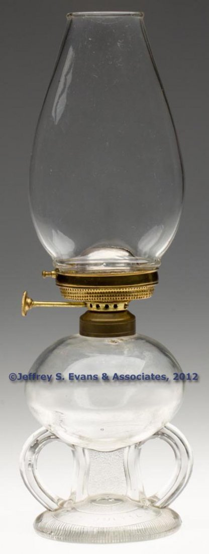 127: RIPLEY PATENTED FOOTED FINGER LAMP